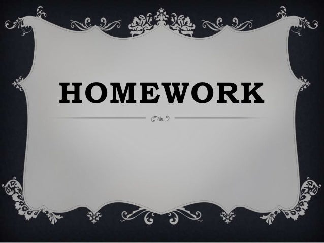 Demonstrations  homework