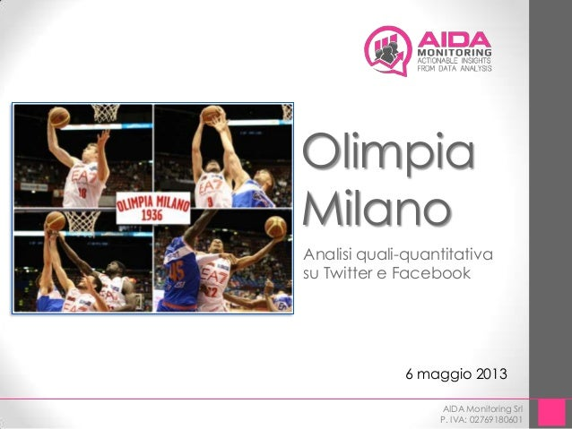 Data Analysis Demo - Olimpia Milano