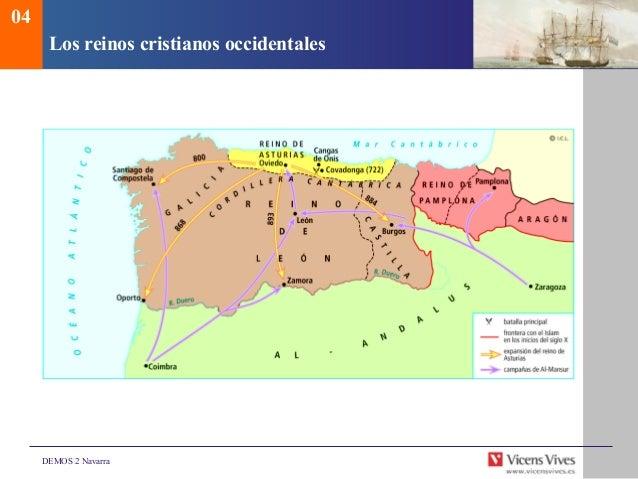 Los Reinos Cristianos 2o Eso 04 Los Reinos Cristianos