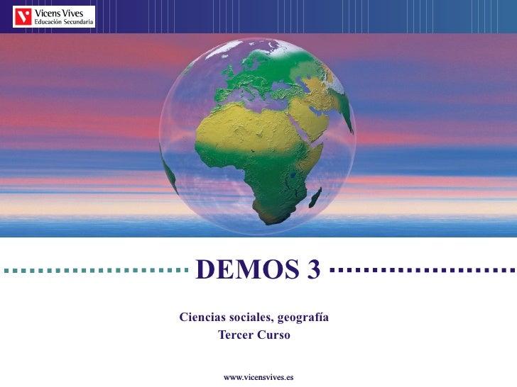 Tema 1: El relieve: marco físico de las actividades humanas