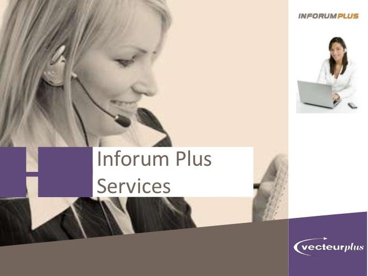 Inforum PlusServices