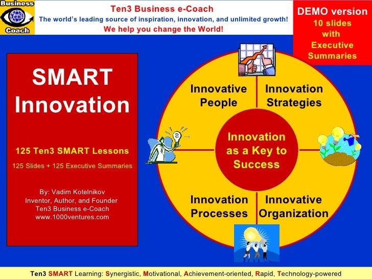 Demo Ten3 Smart Innovation