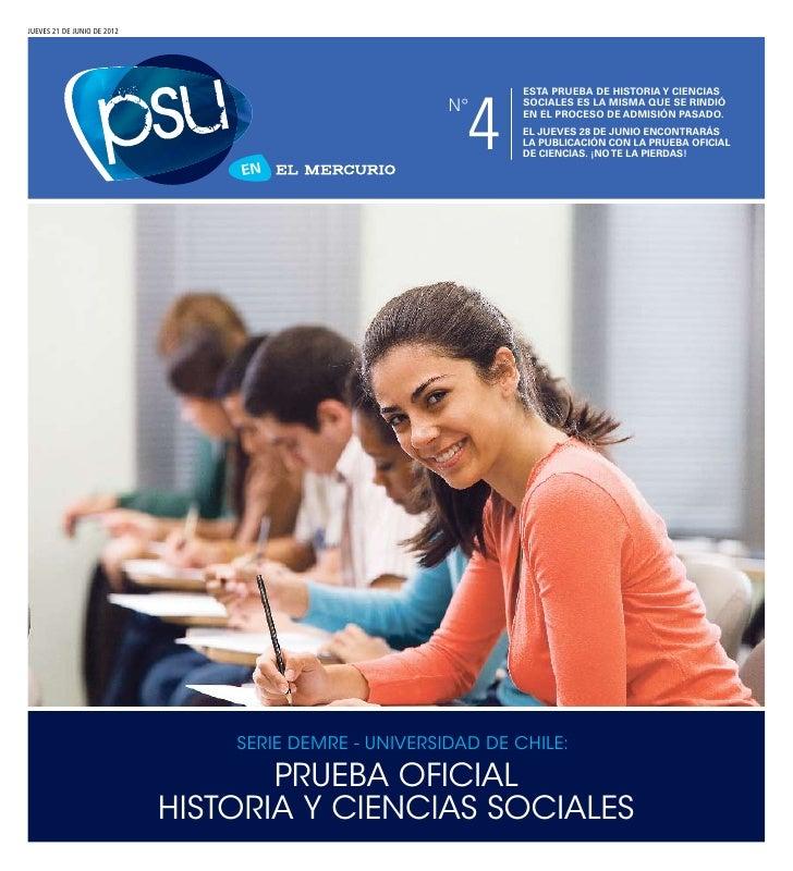 DEMRE: Historia PSU 2011