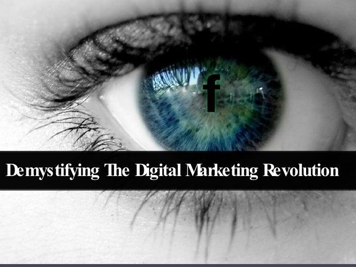 Demystifying digital-marketing