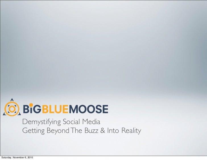 Demystifying social web