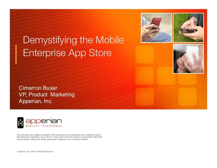 Demystifying the Enterprise App Store