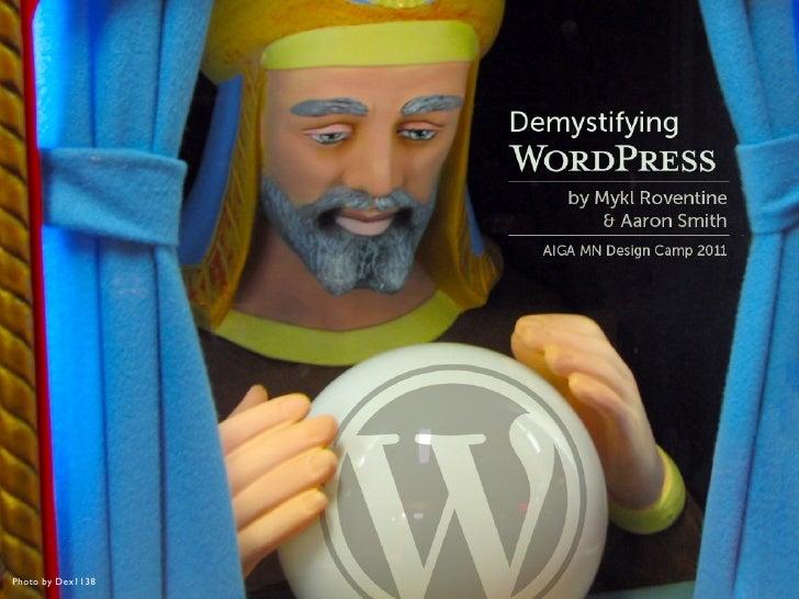 Demystifying WordPress