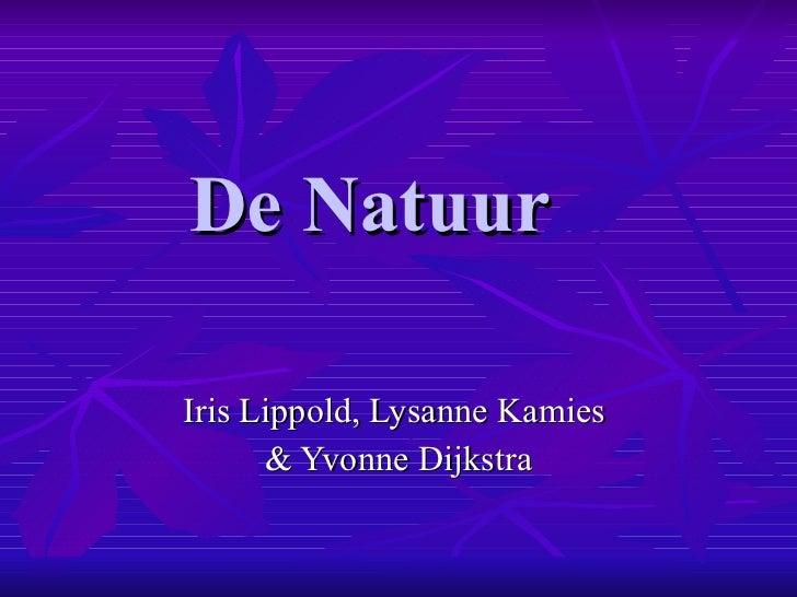 De natuur powerpoint..