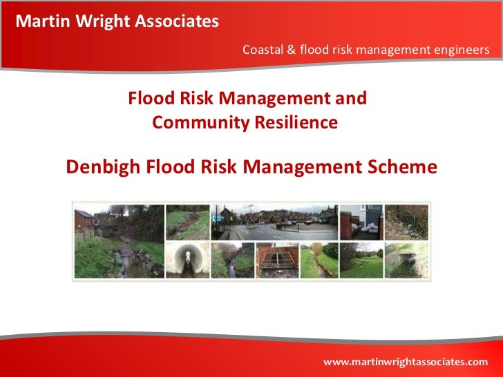 Denbigh flood risk management scheme   case study