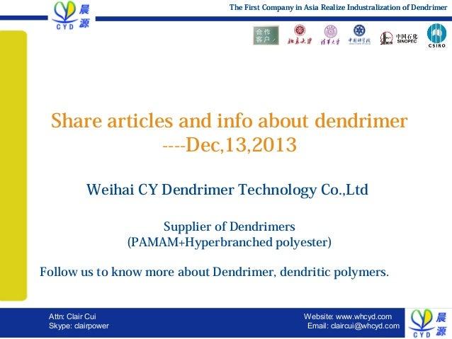 Dendrimer,pamam, hyperbranched polymer application,heavy metal,