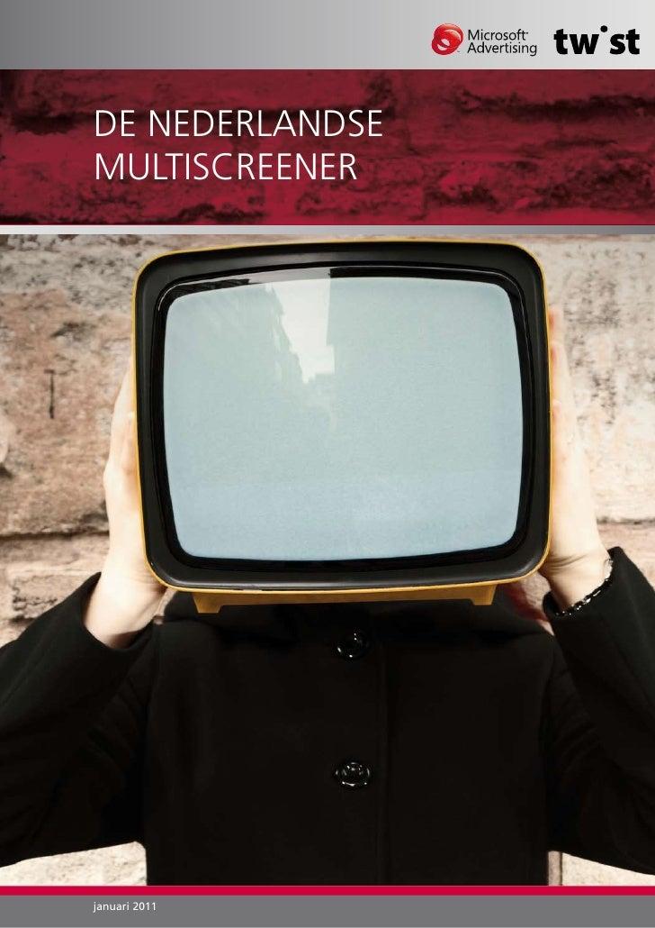 De Nederlandse Multiscreener - Whitepaper