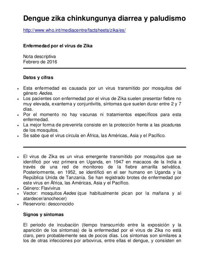 mediacentre factsheets zika