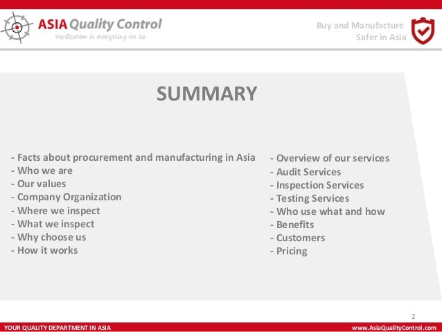 How can i quality assure and quality control a toy which is being mass produced?