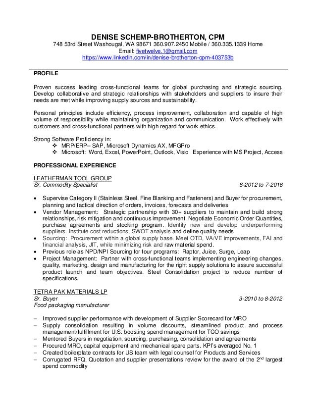 purchasing manager resume sle the 28 images 28 sle