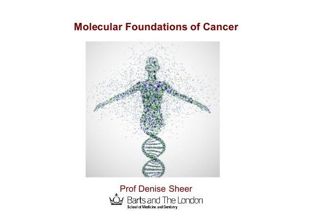 Cancer Genetics - Denise Sheer