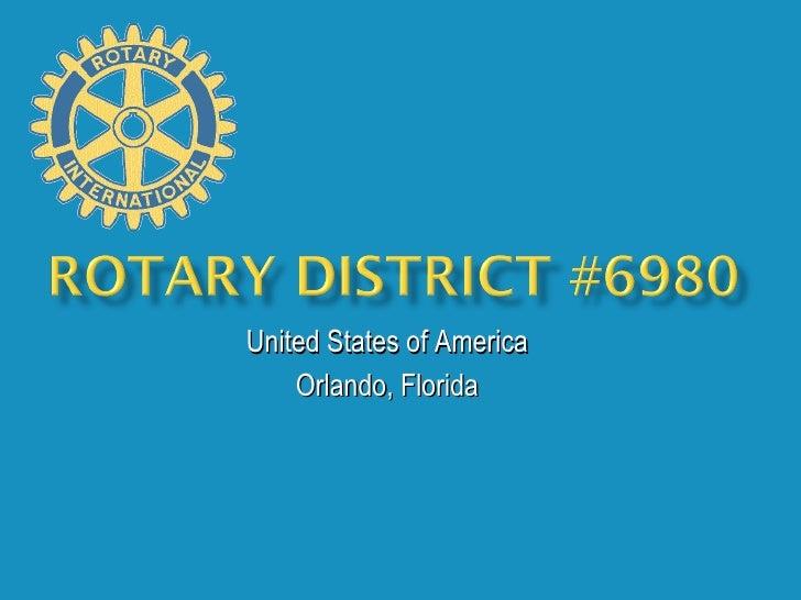 United States of America Orlando, Florida