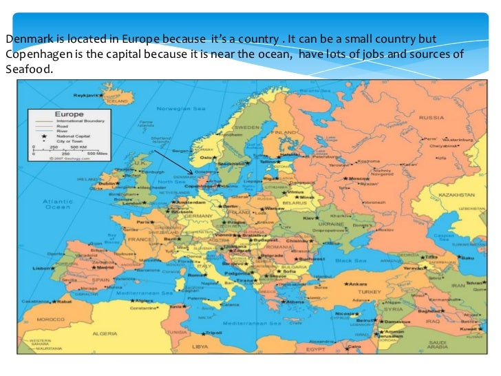 Denmark Location In Europe Images - Where is denmark located