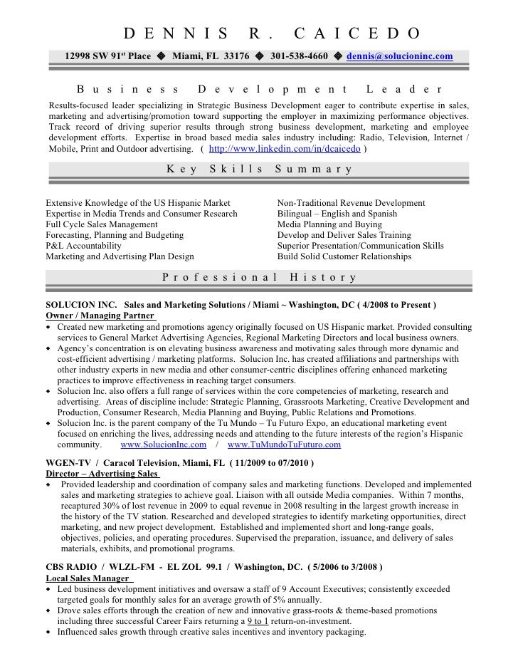 resume objective examples business owner small