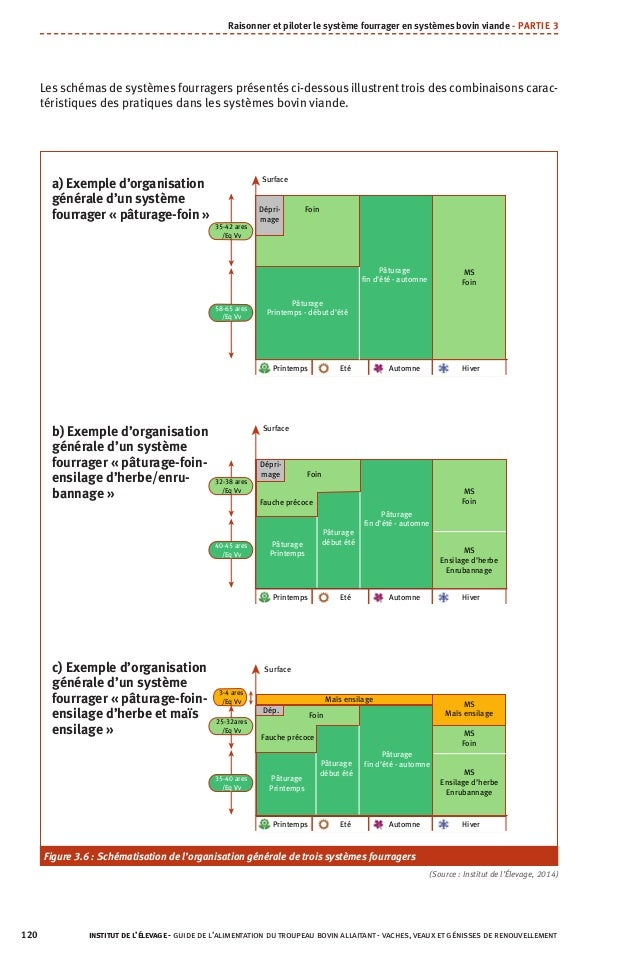 Les schémas de systèmes fourragers présentés ci-dessous illustrent trois des combinaisons carac- téristiques des pratiques...