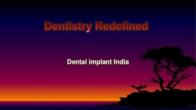 Dental implant India