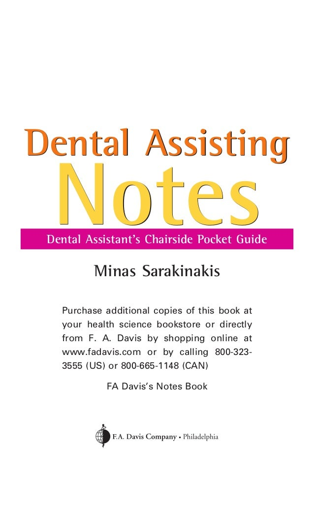 dental assistants essay / miscellaneous / why you should become a dental assistant becoming a dental assistant offers you a great career working with people you will generally be working under one or more dentists.