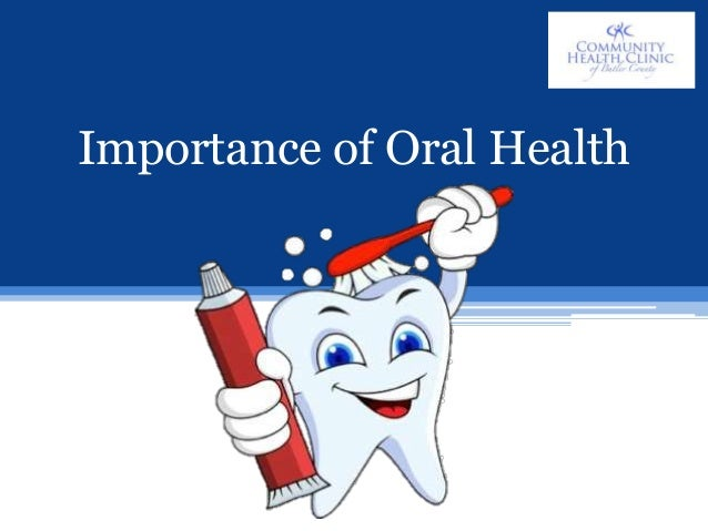 the importance of oral hygiene Oral health has long been shunted to the sidelines of the healthcare system, but  as this issue of generations demonstrates, oral health is.