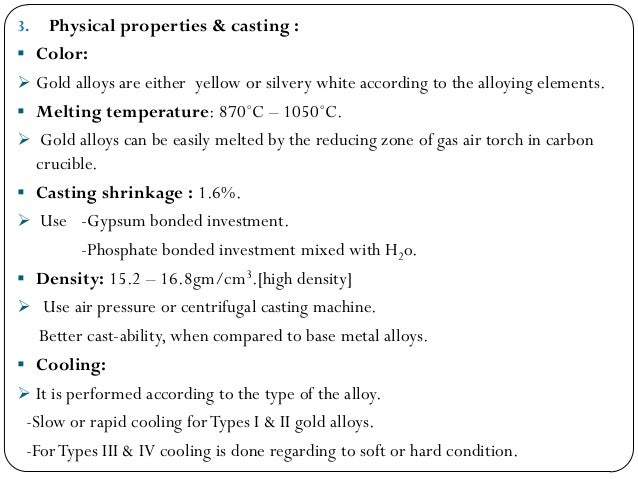 the key properties of three categories of implant alloys 9 physical properties of metals:  silver-copper alloy (one of the two types of particles in  3/30/2006 52 metal implant reliability.