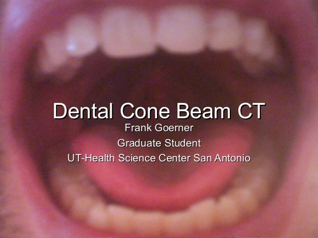Dental conebeamct