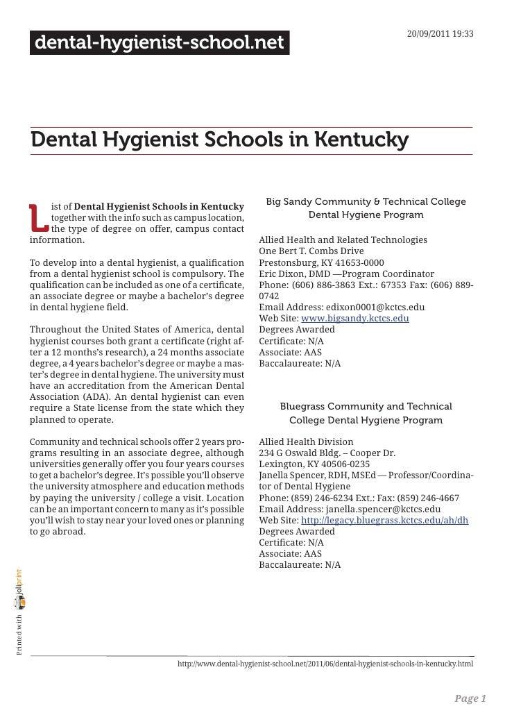20/09/2011 19:33                 dental-hygienist-school.net                Dental Hygienist Schools in Kentucky          ...