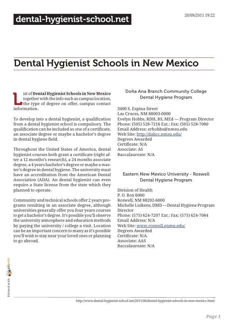 20/09/2011 19:22                 dental-hygienist-school.net                Dental Hygienist Schools in New Mexico        ...