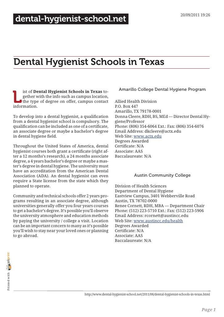 20/09/2011 19:26                 dental-hygienist-school.net                Dental Hygienist Schools in Texas             ...
