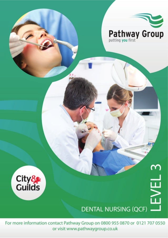 Qualification for those working in Dental Nursing The Level 3 Diploma in Dental Nursing (QCF) provide learners with the kn...