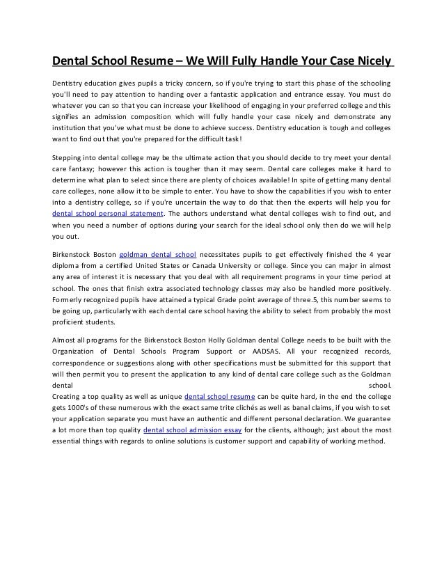 Personal hygiene essay