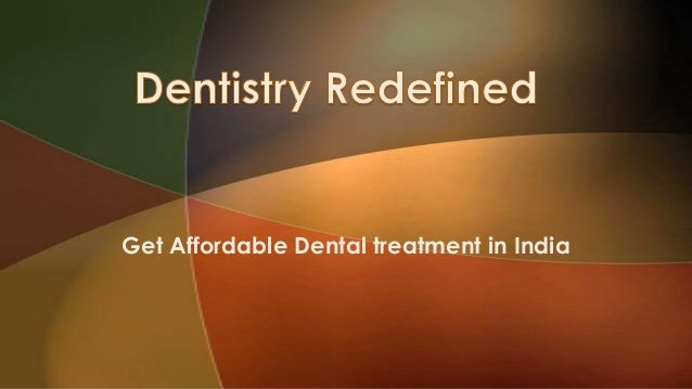 Get Affordable Dental treatment in India
