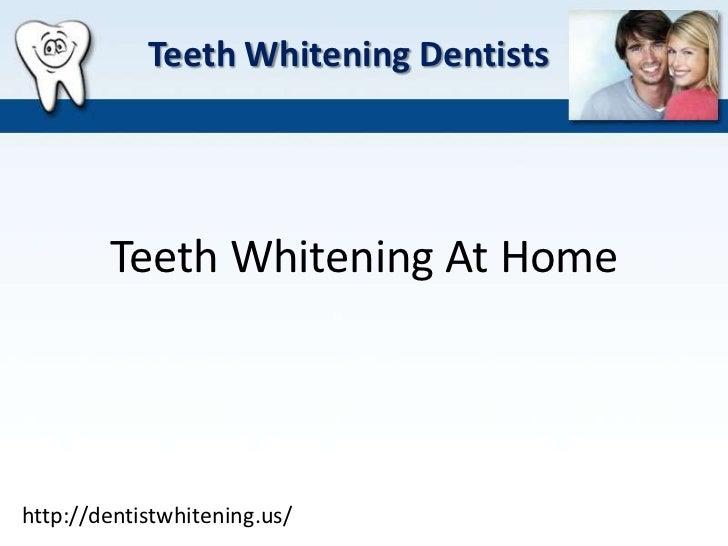 Dentist Whitening   Teeth Whitening