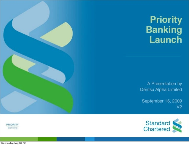 Priority                          Banking                           Launch                           A Presentation by    ...