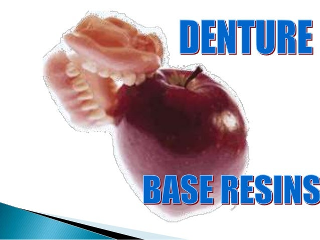 Denture base resin
