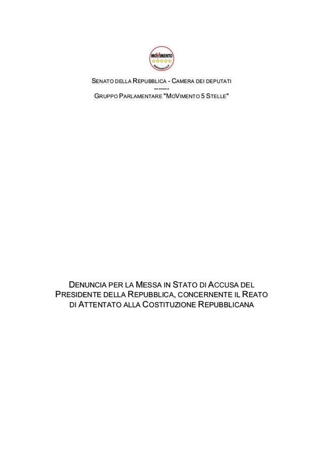 M5S-Impeachment a Napolitano
