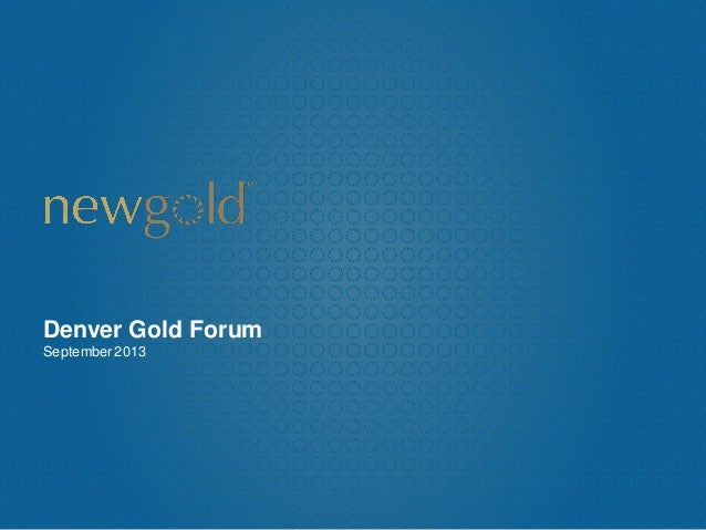 Denver Gold Forum