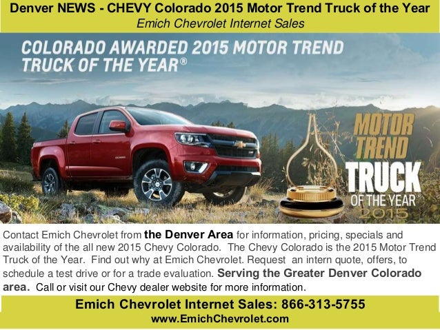 Ram 1500 named motor trend truck of the year for second for Motor trend truck of the year list