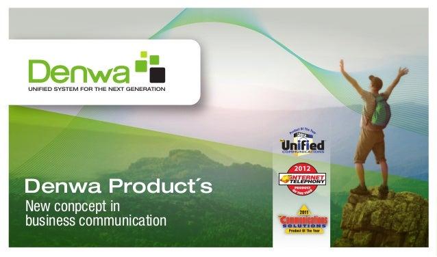 Denwa UC - Products 2013