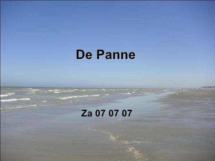 De Panne 2007 07 07