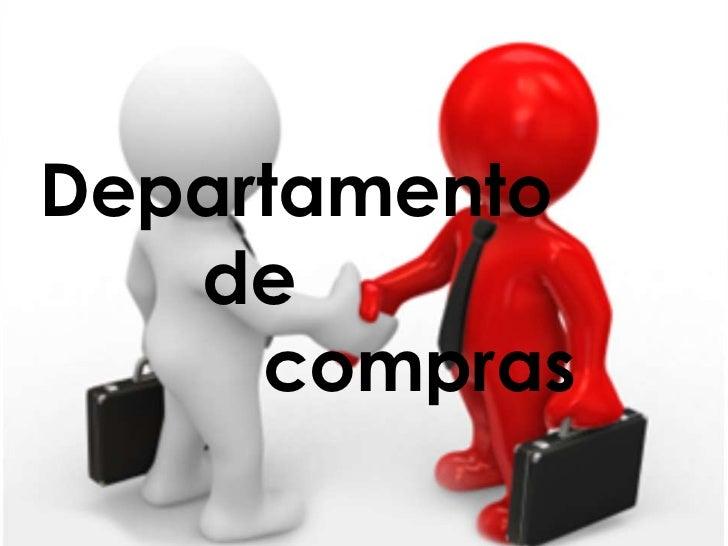 Departamento de compras teorica for Compra de departamentos