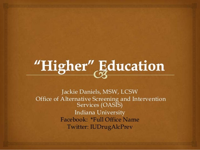 Higher Education 2