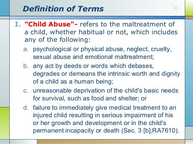 Definition of child sexual abuse pics 94