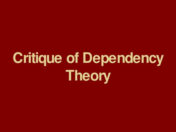 """dependency theory vs modernization theory Formative essay""""compare and contrast modernisation theory and dependency theory what, if anything do they have in common"""" final for submission."""