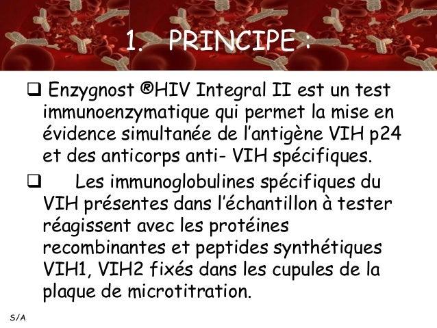 Depistage des ac anti hiv - Test hiv p24 periodo finestra ...
