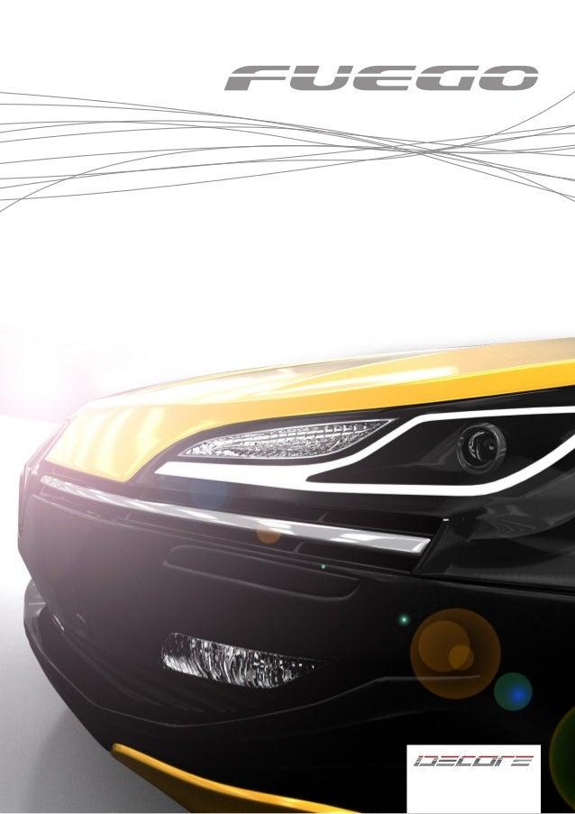 Renault Fuego Hybrid Concept Car