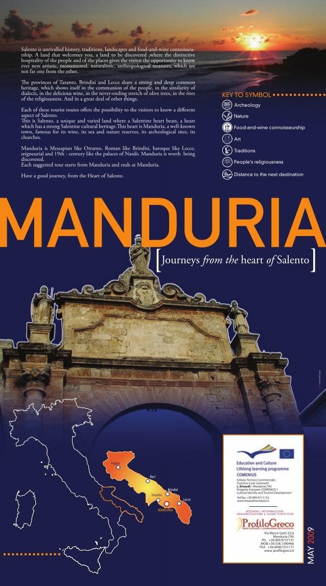 MANDURIA Journeys From The Heart Of Salento