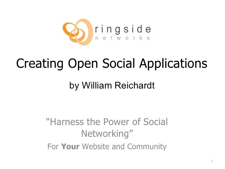 Deploying OpenSocial Gadgets to Ringside